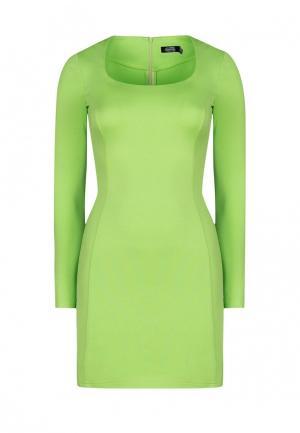 Платье iSwag. Цвет: зеленый