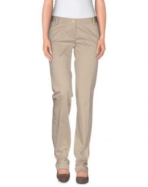 Повседневные брюки L'AIR DE RIEN. Цвет: бежевый