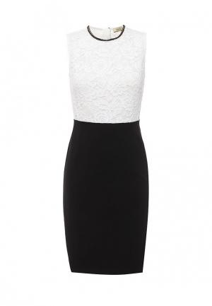 Платье Liu Jo. Цвет: черно-белый