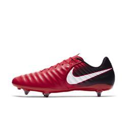 Футбольные бутсы для игры на мягком грунте  Tiempo Ligera IV Nike. Цвет: красный