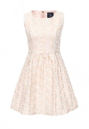 Платье Tantra. Цвет: розовый