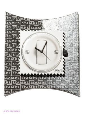 Часы S.T.A.M.P.S.. Цвет: черный, светло-серый