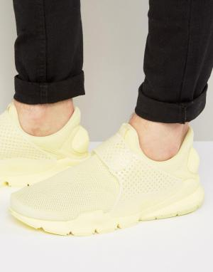 Nike Желтые дышащие кроссовки 909551-700. Цвет: желтый