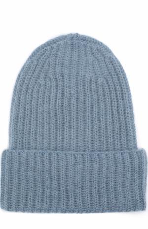 Вязаная шапка Tak.Ori. Цвет: светло-голубой