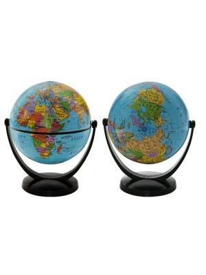 Глобус политический, 10.6 см Rotondo. Цвет: голубой