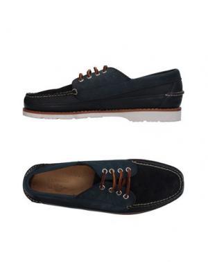 Обувь на шнурках G.H. BASS & CO. Цвет: темно-синий