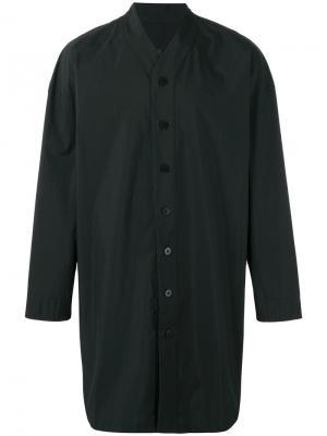 Long V-neck shirt D.Gnak. Цвет: чёрный