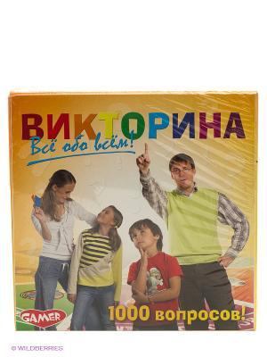 Детская настольная игра Викторина DREAM MAKERS. Цвет: желтый