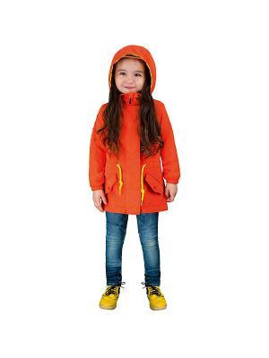 Куртка BOOM. Цвет: коралловый