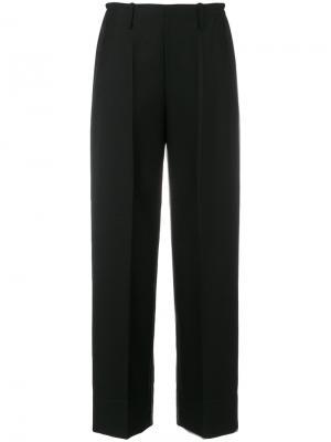 Широкие брюки Lemaire. Цвет: чёрный