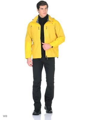 Куртка Gravity Parka GTX Red Fox. Цвет: светло-желтый