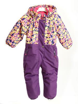 Комбинезон batik. Цвет: синий,розовый