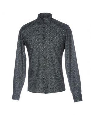 Pубашка J. LINDEBERG. Цвет: черный