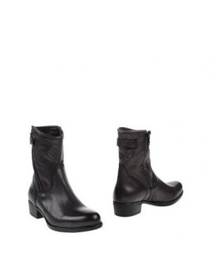 Полусапоги и высокие ботинки TREMP. Цвет: стальной серый