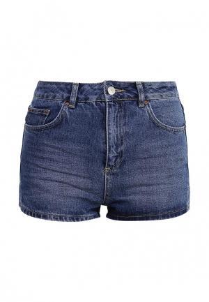 Шорты джинсовые Topshop. Цвет: синий