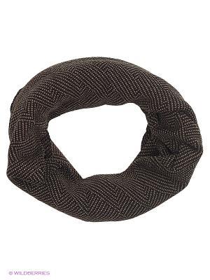 Снуд FOMAS. Цвет: черный, коричневый