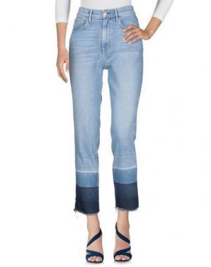 Джинсовые брюки 3x1. Цвет: синий