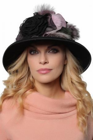 Шляпа LakMiss. Цвет: черный, фиолетовый