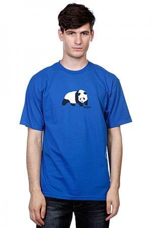 Футболка  Original Panda Royal Enjoi. Цвет: синий