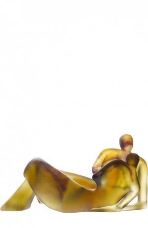 Скульптура Honeymoon Daum. Цвет: бесцветный