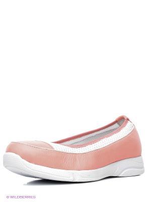 Балетки Nexpero. Цвет: бледно-розовый