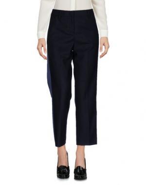 Повседневные брюки TONELLO. Цвет: темно-синий