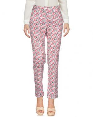 Повседневные брюки PAOLO CASALINI. Цвет: коралловый