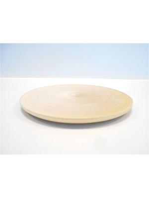 Тарелка декоративная Taowa. Цвет: кремовый