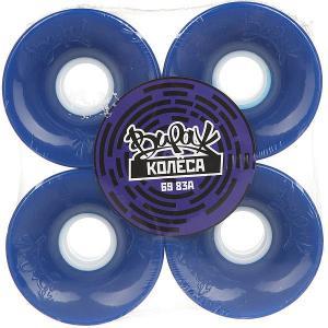 Колеса для скейтборда лонгборда  Blue 83A 69 mm Вираж. Цвет: синий