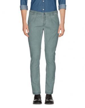 Повседневные брюки TELERIA ZED. Цвет: цвет морской волны