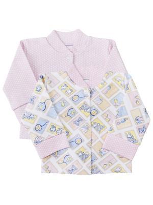 Комплект Веселый малыш. Цвет: розовый, голубой, желтый