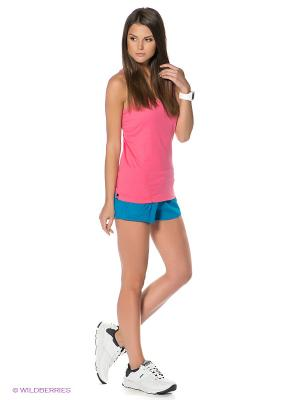 Трикотажные шорты Adidas. Цвет: синий