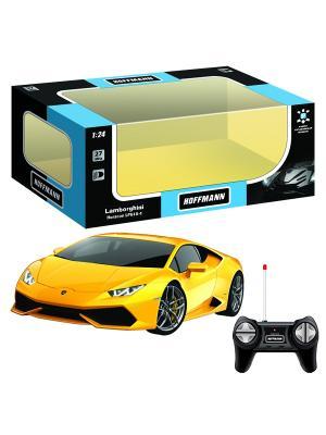 Машина р/у Lamborghini Huracan LP610-4 1:24 HOFFMANN. Цвет: желтый