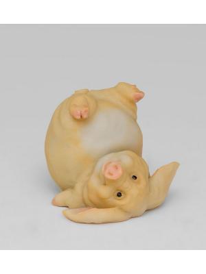 Фигура мал. Свинья Шалун Sealmark. Цвет: розовый
