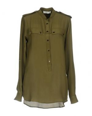 Pубашка ELLA LUNA. Цвет: зеленый-милитари