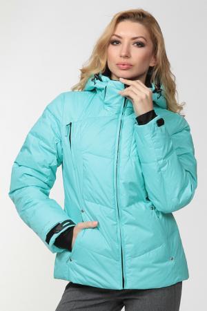 Куртка City One. Цвет: голубой