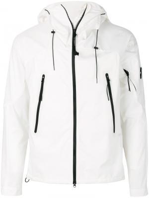 Куртка на молнии CP Company. Цвет: белый