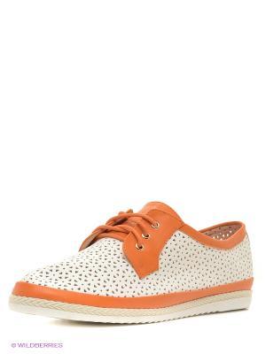 Туфли VIVIAN ROYAL. Цвет: оранжевый