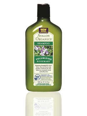 Шампунь с маслом розмарина, 325 мл Avalon Organics. Цвет: прозрачный