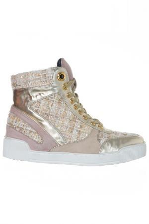 Ботинки Luciano Barachini. Цвет: beige, pink