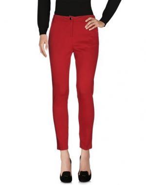 Повседневные брюки KARTIKA. Цвет: кирпично-красный