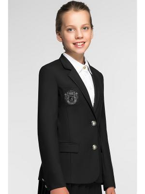 Пиджак Briton. Цвет: черный