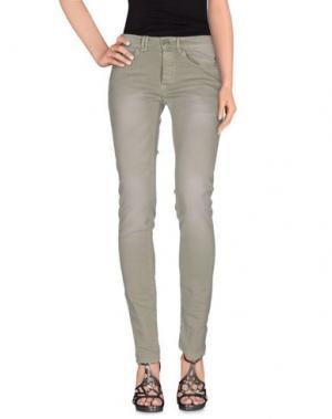 Джинсовые брюки MAMUUT. Цвет: зеленый-милитари