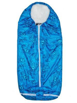 Конверт-одеяло Seehund TIGger. Цвет: синий