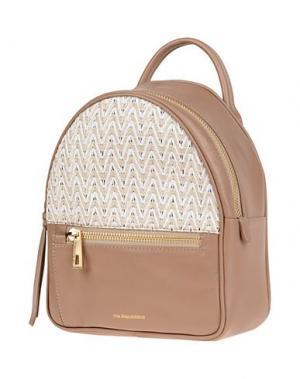 Рюкзаки и сумки на пояс VIA REPUBBLICA. Цвет: хаки