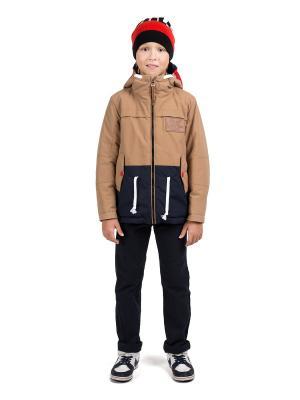 Куртки ШАЛУНЫ. Цвет: бежевый