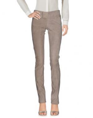 Повседневные брюки SLY010. Цвет: светло-серый