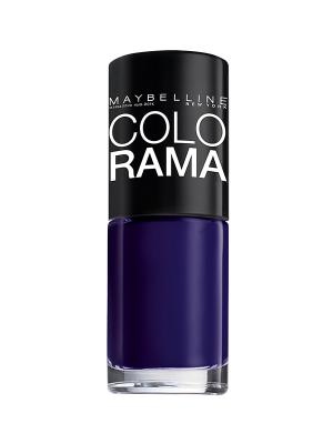 Лак для ногтей Colorama, оттенок 325, Летняя ночь, 7 мл Maybelline New York. Цвет: фиолетовый