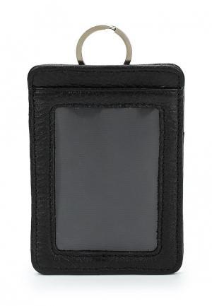Обложка для документов Pellecon. Цвет: черный