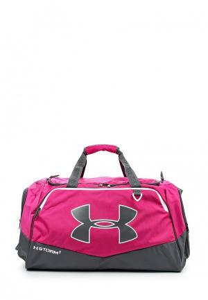 Сумка спортивная Under Armour. Цвет: розовый